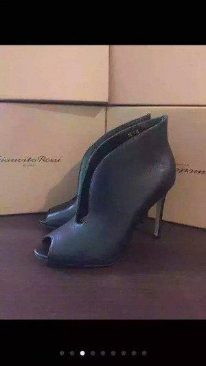 Кожаные ботиночки с большой скидкой