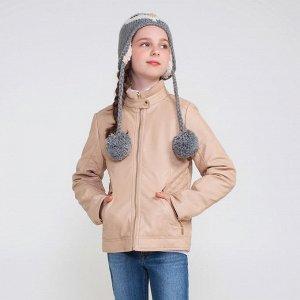 Продам утепленную куртку из эко кожи