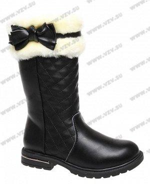 Сапоги зимние для маленькой модницы на ножку 16,5-17 см.