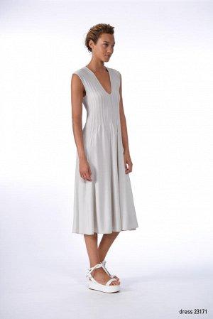 Италия. ЖЕЛТОЕ платье Crea Concept. На 48 размер.