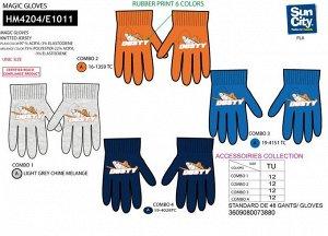 Перчатки оранжевого цвета