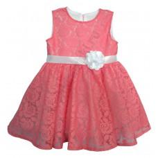 Платье Платье (кружево х/б),. Платье из кружева на подкладе из эластичного волокна, с завышенной талией, юбка расклешена к низу, для придания объема пришита сетка. Состав: 80%  хлопок, 20 % полиэстер