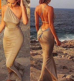 Шикарное платье в пол для торжества!