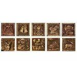 """Шоколадный набор  из 6 миниатюр """"Шоколадный домик"""""""