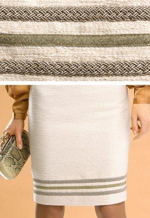 Красивая светлая юбка на ОБ 100-102 см.