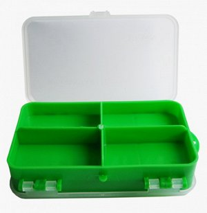 Коробочка для оснастки двухсторонняя (зеленая) Helios