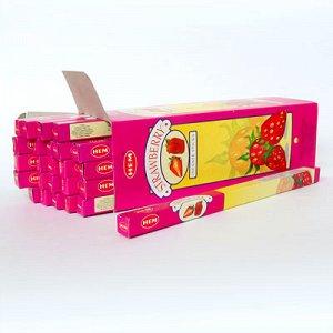 Благовония HEM, четырехгранники, Strawberry (Клубника)