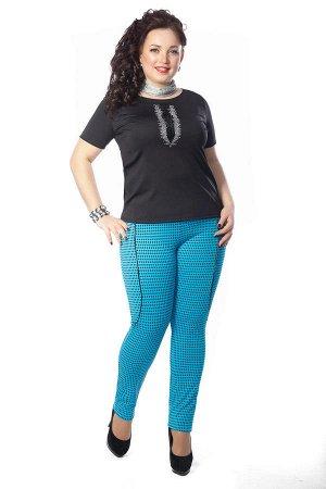 Яркие брючки 54 размера - для смелой и увереной в себе девушки