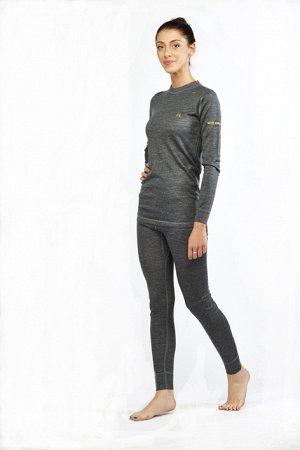 Комплект термобелья женский (футболка+лосины), черный