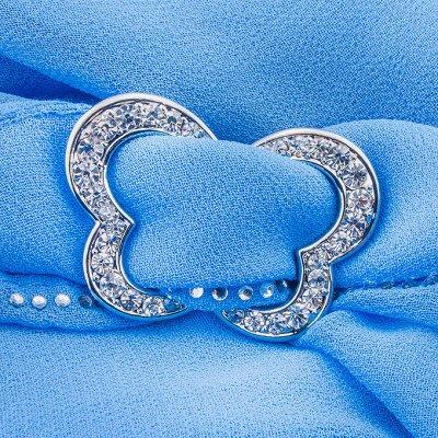 Россини-большой выбор палантинов, платков, шапок, ремней!    — Зажимы для платков — Платки и шарфы