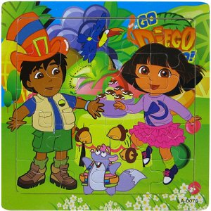 Дора и Диего