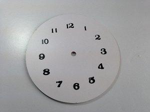 Деревянная основа для часов без механизма