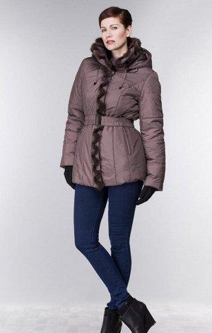 Шикарная зимняя  куртка с норкой Финляндия