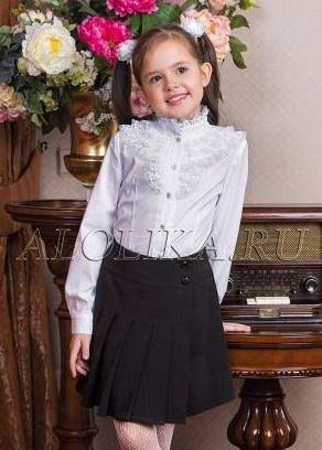 Школьная юбка Школьница, цвет черный
