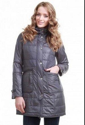 Классная куртка 46-48размер цвет серый