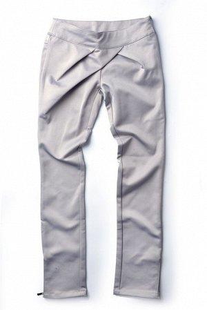 Модные брючки, отличного качества, новые, цвет серый металик.