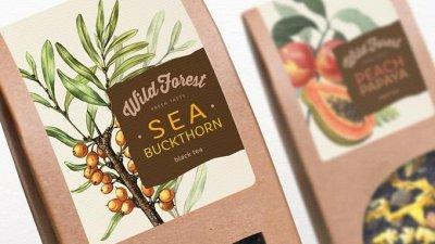 Приятного чаепития с РЧК!  — Чай Wild Forest (заводская упаковка)  — Чай