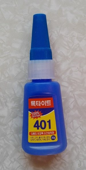Клей 401 Клей 401. Китай. Цена указана за 3 шт