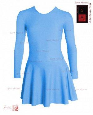 Рейтинговое платье Р 29-011 ПА голубой