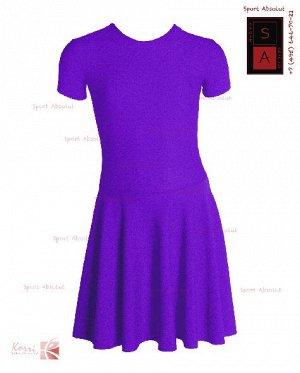 Рейтинговое платье Р 30-011 ПА ярко-фиолетовый
