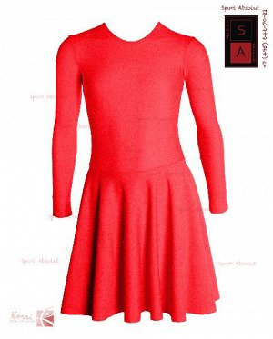 Рейтинговое платье Р 39-011 ПА ярко-красный