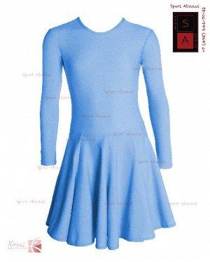 Рейтинговое платье Р 82-011 ПА голубой