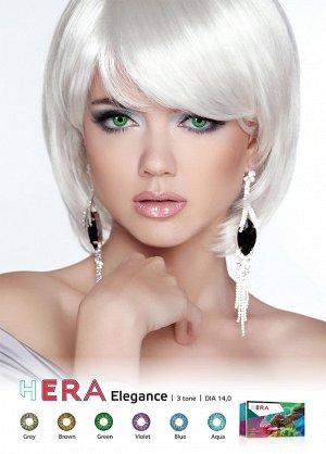 Перекрывающие цветные контактные линзы (Dreamcon) HERA Color Elegance Plano (2 линзы)