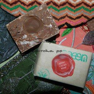 Ацтекское золотое мыло с какао и периллой AZTEC GOLD