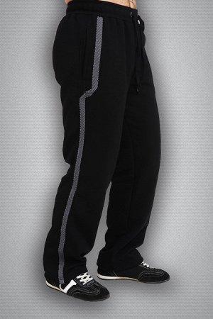 Теплые спортивные штаны. Цвет светло серый.