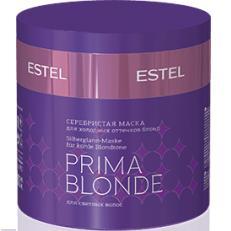Серебристая маска для холодных оттенков блонд PRIMA BLONDE
