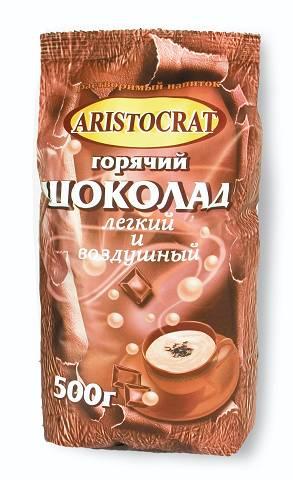"""Горячий шоколад АРИСТОКРАТ """"Легкий и воздушный"""" 500г"""