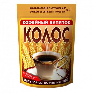 Кофейный напиток Колос ZIP пакет 100 г
