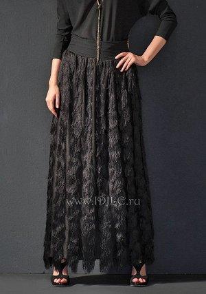 Нарядная, необычная  юбка!
