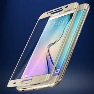 Стекло 3d защитное закаленное на весь экран Samsung Galaxy S6 edge plus