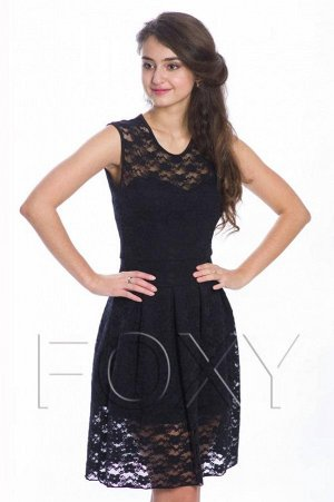 Платье. Классическое чёрное платье.