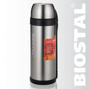 """Термос Biostal """"Спорт"""" NGP-2000P 2,0л (универсальный, ручка)"""