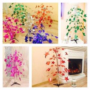 Яркое новогоднее деревце, цвет в ассортименте. Высота 82-85 см