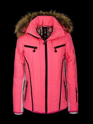 куртка лыжная розовая