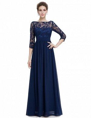 Элегантное длинное платье на любой праздник.