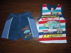 Комплект детский футболка с шортами
