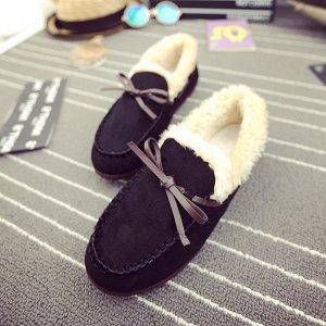 Классные утепленные демисезонные туфельки для девочки.