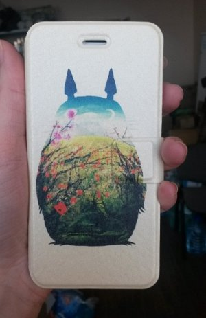 Чехол-книжка Тоторо для IPhone6s