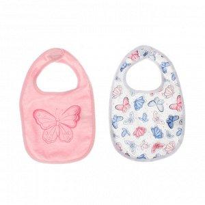 Пристрою нагрудник детский Пле&&й Тудей для девочек  , 2 шт. в комплекте