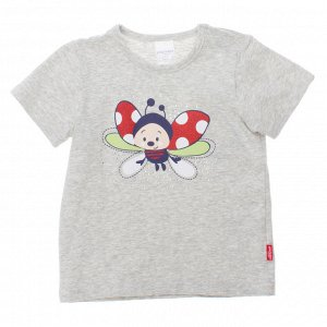 Пристрою футболку Пле&&й Тудей для девочки, р-р 80