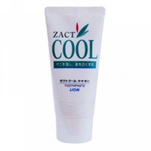 """766681 """"Lion"""" """" Zact Cool"""" Зубная паста с освеж. и отбели. эффектом для курящих 130гр. (в тубе) 1/60"""