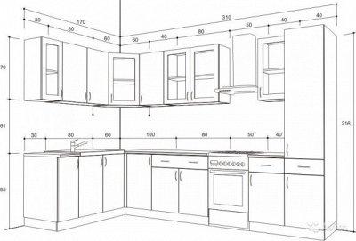 Доступная Мебель - 76,1  Рассрочка!  — Кухня модульная! Собери свою кухню! — Гарнитуры