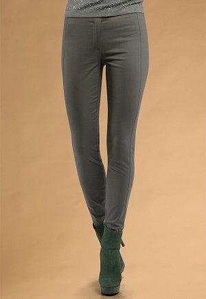 Модные брюки приятного серого цвета, размер  44- 46, хлопок!