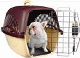Переноска для собак большая (метал. дверь) (59*36,5*38)