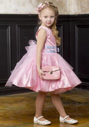 Платье «Балеринка» роза=без подьюбника