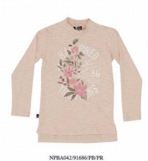 Лонгслив отличное качество 6 лет бренд Noth Pole Розовый